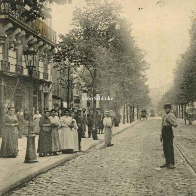 Barillot 76 - Rue Mozart prise de la rue Ribéra
