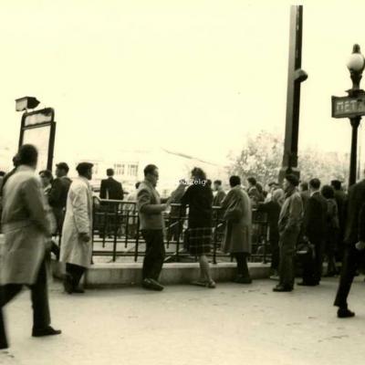 Photo - Place de la Bastille en 1961