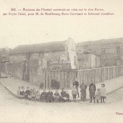 BC 90 - Ruines de l'Hôtel constriot ren 1762