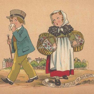 1305 - Les petits métiers de la rue