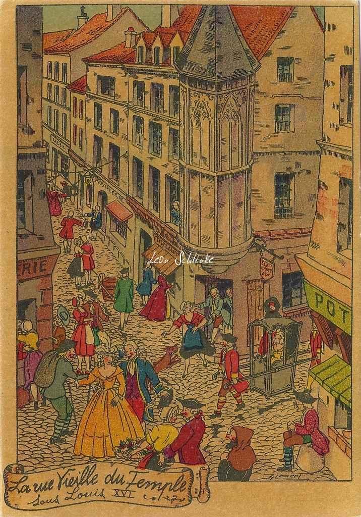 1349 les rues de paris for Le jardin moghol 53 rue vieille du temple