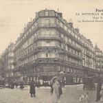 Bellegarde - La Mutuelle Européenne, 53 Bd Haussmann et rue Auber