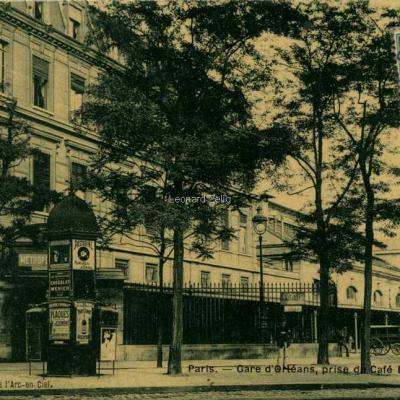 Bellenger edition - Gare d'Orléans, prise du Café Bellenger