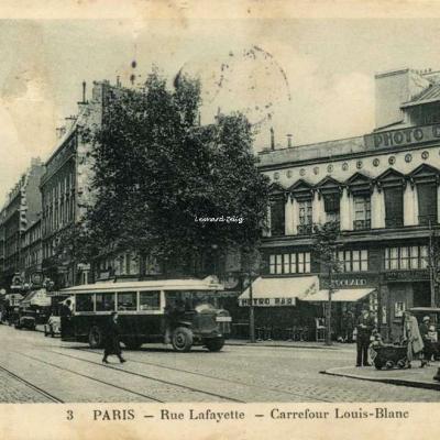 Bertin Tabacs 3 - PARIS - Rue Lafayette - Carrefour Louis Blanc