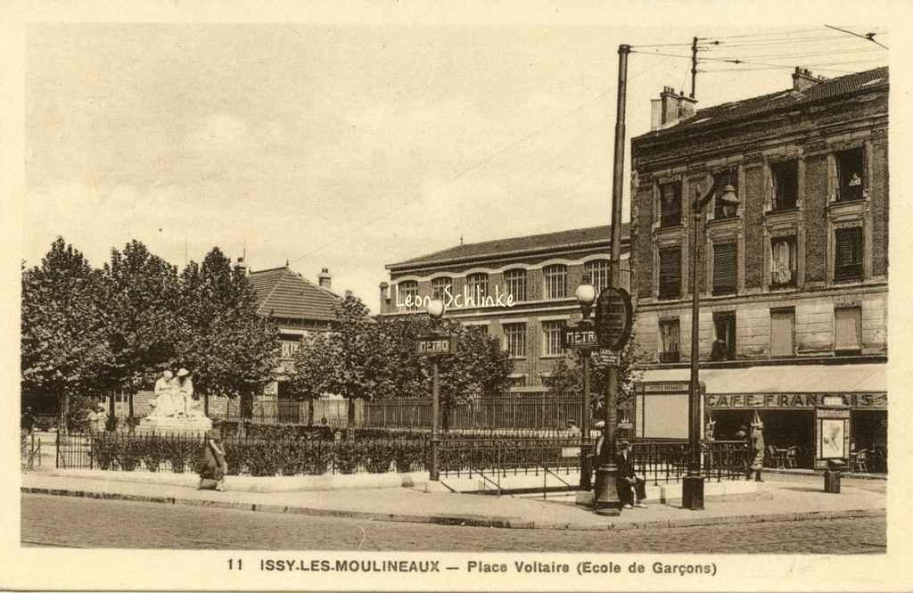 Bertrand 11 - Issy-les-Moulineaux - Place Voltaire