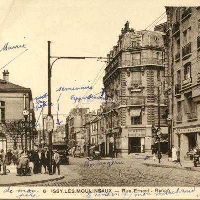 Bertrand 6 - ISSY-LES-MOULINEAUX - Rue Ernest-Renan