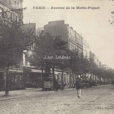 Bessaudou - Avenue de la Motte Piquet