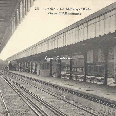 BF 235 - Le Métropolitain - Gare d'Allemagne