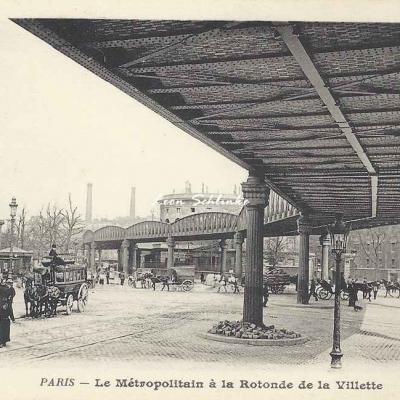 BF 236 - Le Métropolitain à la Rotonde de la Villette