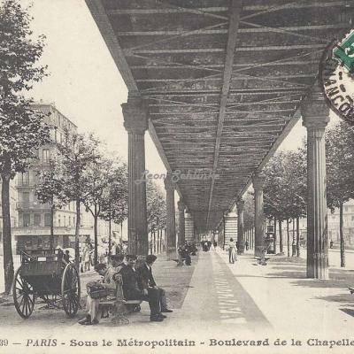 BF 239 - Sous le Métropolitain - Boulevard de la Chapelle