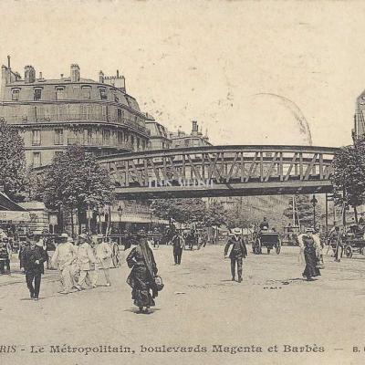 BF 240 - Le Métropolitain, bds Magenta et Barbès