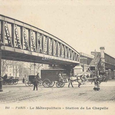 BF 241 - Le Métropolitain - Station de La Chapelle