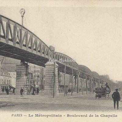 BF 242 - Le Métropolitain - Boulevard de la Chapelle