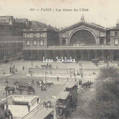 BF 290 - La Gare de  l'Est
