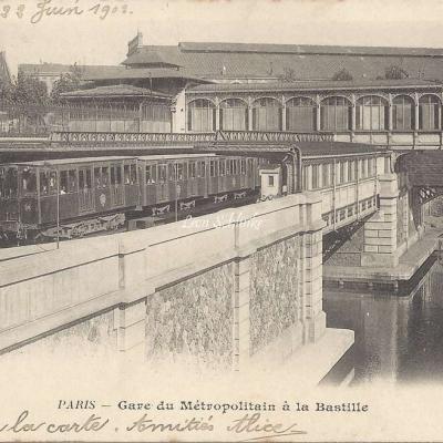 BF 88 - Gare du Metropolitain à la Bastille