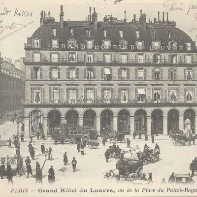 BF - Grand Hôtel du Louvre