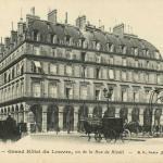 BF - Grand Hôtel du Louvre vue de la Rue de Rivoli