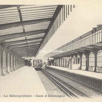 BF - Le Métropolitain - Gare d'Allemagne