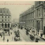 BF - PARIS - Rue de Rivoli. Vue prise de la Place du Palais Royal