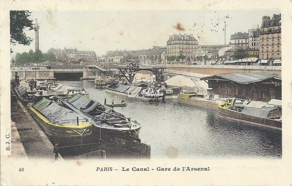 BJC 49 - Le Canal - Gare de l'Arsenal