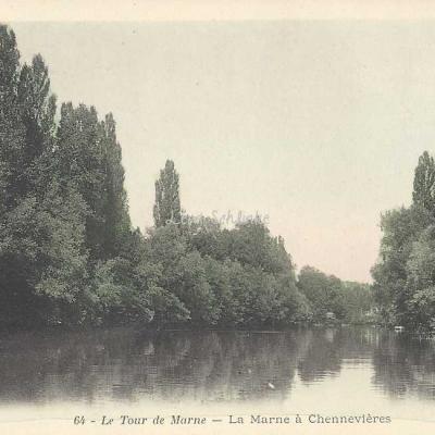 BJC 64 - Chennevières - Le Tour de Marne