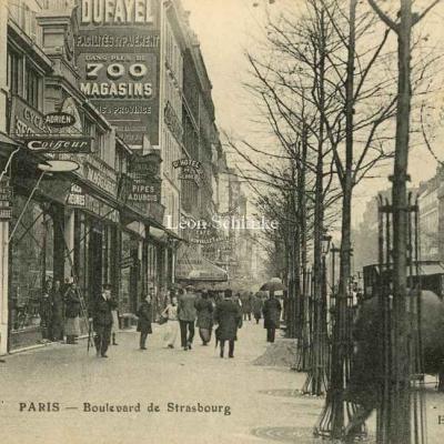 Bonvallet ed. - Boulevard de Strasbourg