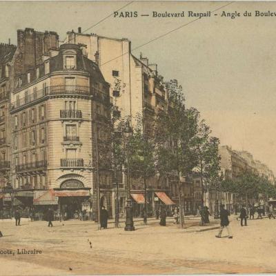 Bootz libraire - PARIS - Boulevard Raspail - Angle Bd Montparnasse