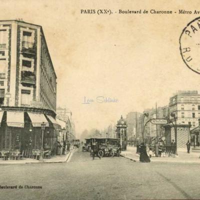 JAILLE - Boulevard de Charonne - Metro Avron