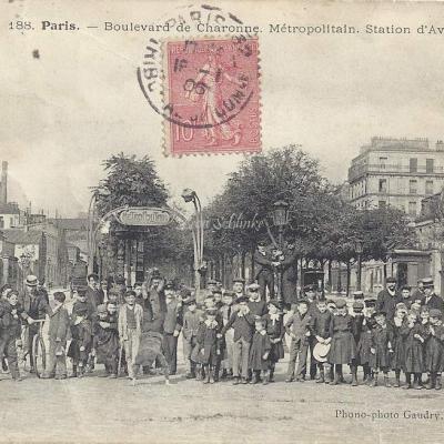 Phono-photo GAUDRY 188 - Boulevard de Charonne - Station d'Avron