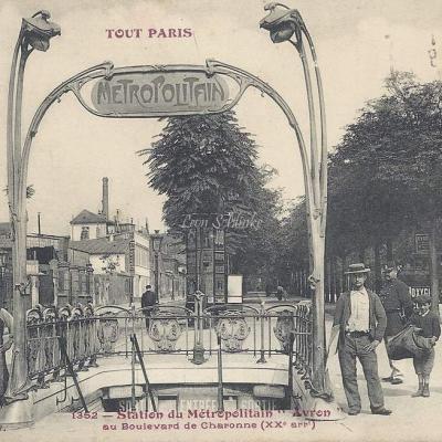 TOUT PARIS 1352 - Boulevard de Charonne