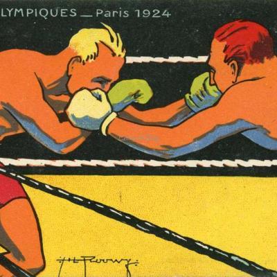H.L Roowy - Jeux Olympiques 1924 - BOXE
