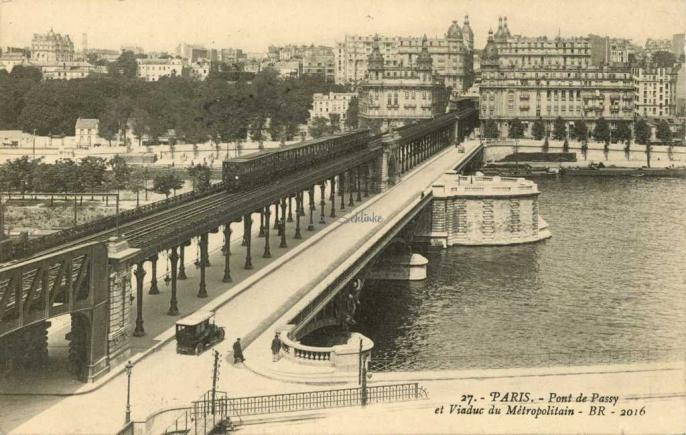 Br 27 2016 Pont De Passy Et Viaduc Du Metro