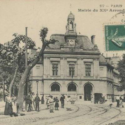 BR 277 - Mairie du XX° arrondissement