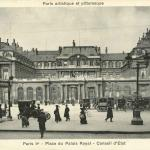 Bréger A. - Paris I° - Place du Palais Royal