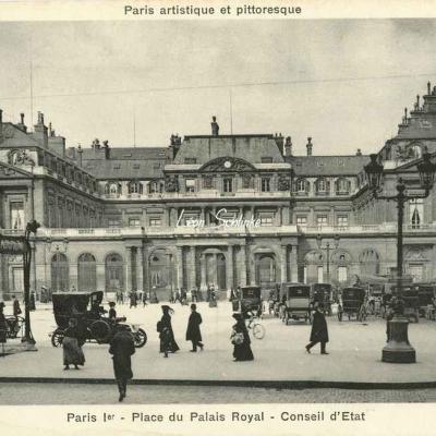 Bréger A. - Paris I° - Place du Palais Royal