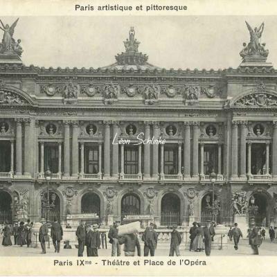 Bréger A. - Paris IX° - Théâtre et Place de l'Opéra
