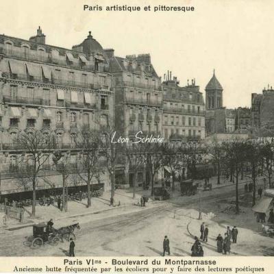 Bréger A. - Paris VI° - Boulevard du Montparnasse