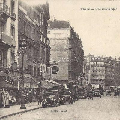 Brunet - Rue du Temple