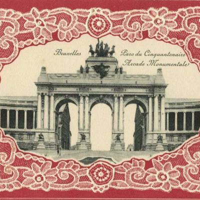 Bruxelles - Parc du Cinquantenaire, Arcade Monumentale
