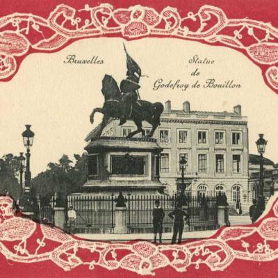 Bruxelles - Statue de Godefroy de Bouillon