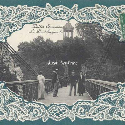 Buttes-Chaumont, Le Pont Suspendu