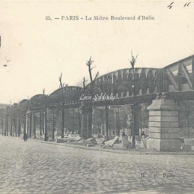 BXF 65 - Le Metro Boulevard d'Italie
