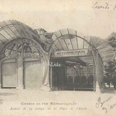 C.M. 66 - Entrée de la station de la Place de l'Etoile