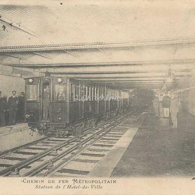 C.M. (St-Cloud) 52 - Station de l'Hôtel de Ville