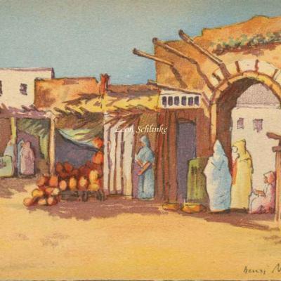 3503 - Scènes Marocaines