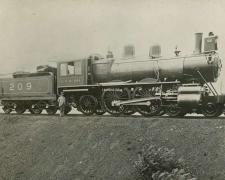 C.P.R 209 (Canadian Pacific Railway)