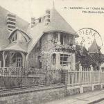 Cabourg - AD 77 - Le Chalet Blanc (côté rue) Villa Modern-Style