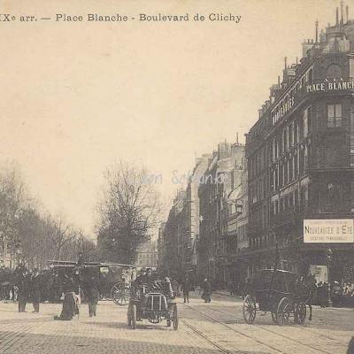 CAD 10 - Place Blanche - Boulevard de Clichy