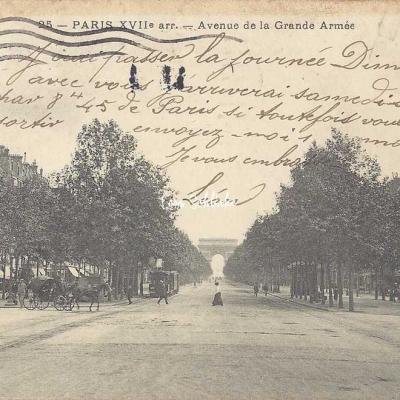 CAD 25 - Avenue de la Grande Armée
