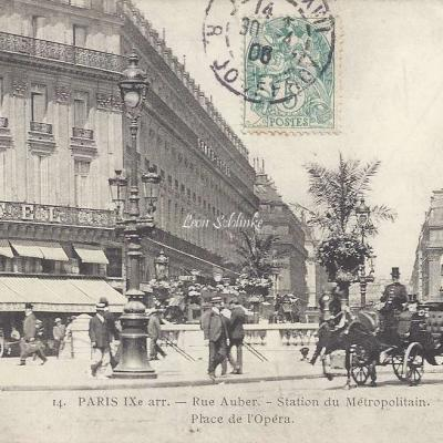 CADOT 14 - Rue Auber - Metro